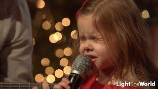 LET THERE BE PEACE ON EARTH - 5 YEAR OLD CLAIRE RYANN CROSBY WITH DAD AND THE PIANO GUYS