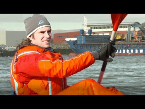 Ocean Plastic Turned into Kayaks   Blue Planet Live   BBC Earth