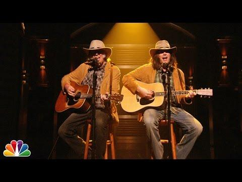 Two Neil Youngs Sing OLD MAN On Jimmy Fallon