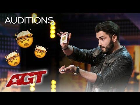 HOW Did Sos Do It?! Magician Pulls Cards Out Of Thin Air - America's Got Talent 2019