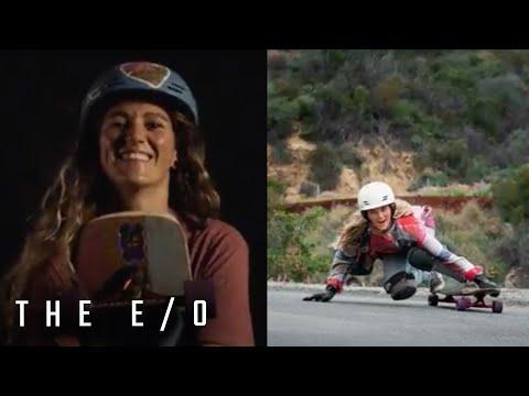 Downhill Skater & Adrenaline Seeker Amanda Main Video   The E/O