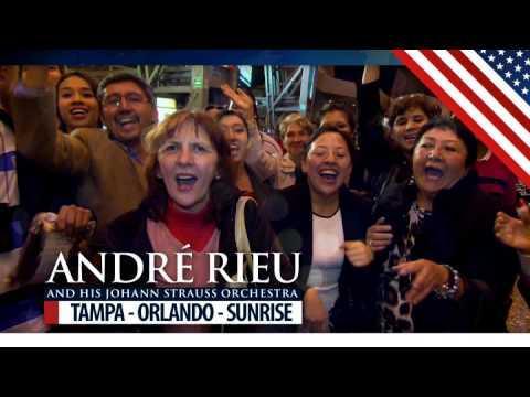 André Rieu annouces first cities USA Tour 2017