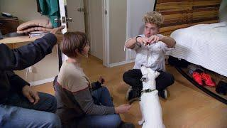 Here's How You Teach A Dog Sign Language | Rescue Dog to Super Dog