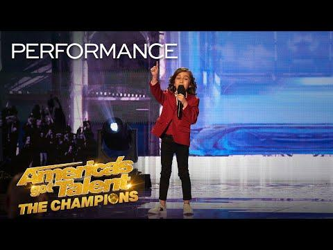 7-Year-Old JJ Pantano ROASTS Simon Cowell With Funny Insults! - AGT
