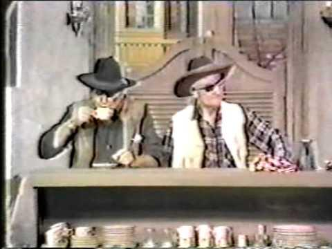 Red Skelton And John Wayne