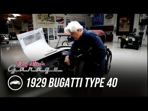 1929 Bugatti Type 40 Video - Jay Leno's Garage