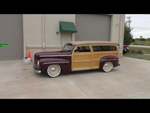 1947 Ford Woody Wagon 2dr Custom - Kahuna - 302 V8 Video