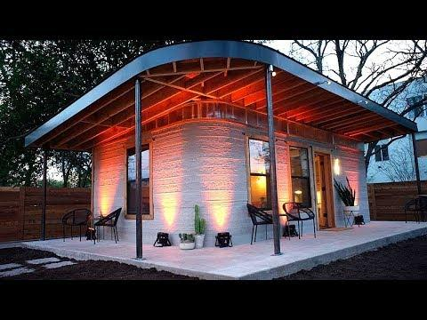 THIS HOUSE WAS 3D PRINTED IN JUST 24 HOURS!