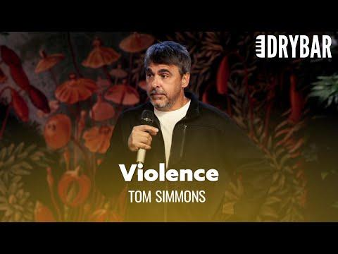 You Can't Raise Your Children With Violence Video. Comedian Tom Simmons