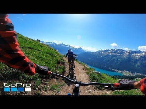 GoPro: Wild Swiss Alps MTB Ride in 4K