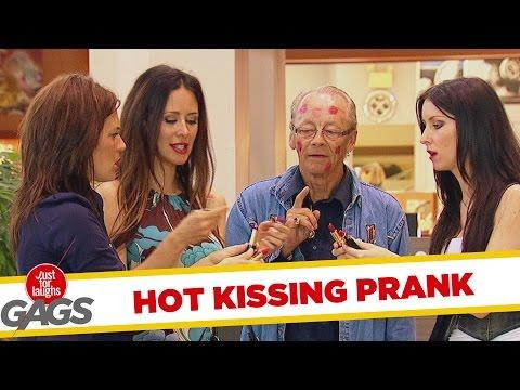 Hot Girls Kissing Strangers
