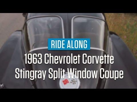 1963 Chevrolet Corvette Stingray Split Window Coupe | Ride Along