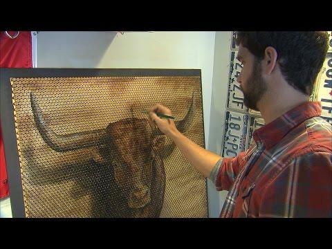Gun Shell Canvas (Texas Country Reporter)