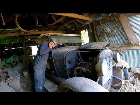 1929 Ford Model A Roadster Pickup #Video