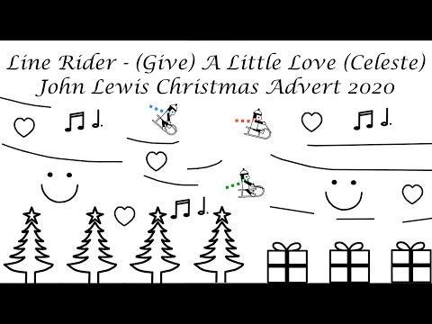 Line Rider Video - (Give) A Little Love, Celeste