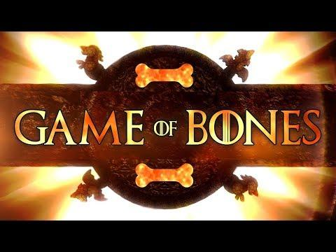 GAME of BONES. Crusoe the Celebrity Dachshund