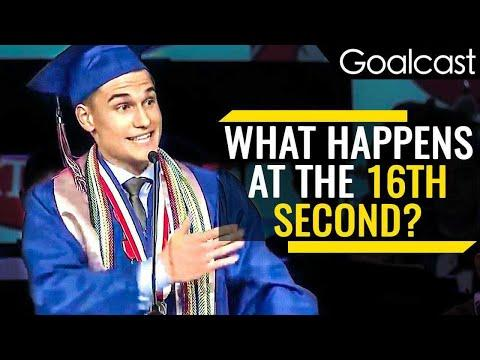 Valedictorian Shares Important Life Lesson | Kyle Martin Speech | Goalcast