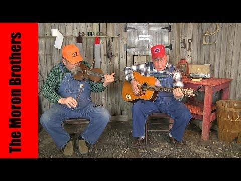The Moron Brothers Play An Old Fiddle Tune