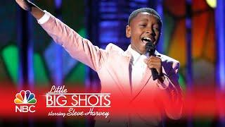 Little Big Shots - A 12-Year-Old Gospel Singer (Episode Highlight)