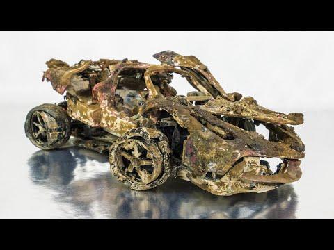 Ferrari LaFerrari 6,3L V12 Restoration abandoned model #Video