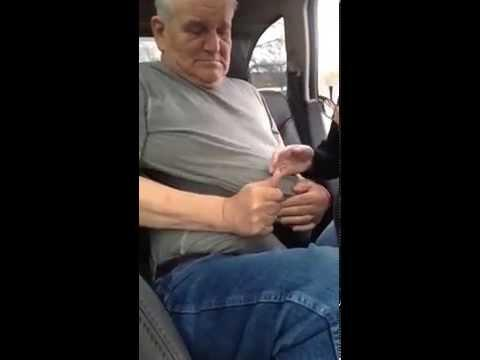 Older Man Gets Stuck In Seatbelt - Wife Becomes Hysterical