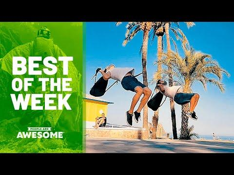 Biking Backward, Parkour & More Video | Best of the Week