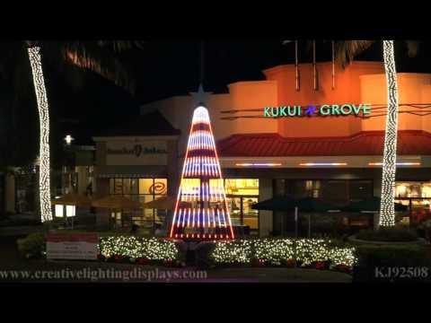 Christmas Light Show At Kukui Grove
