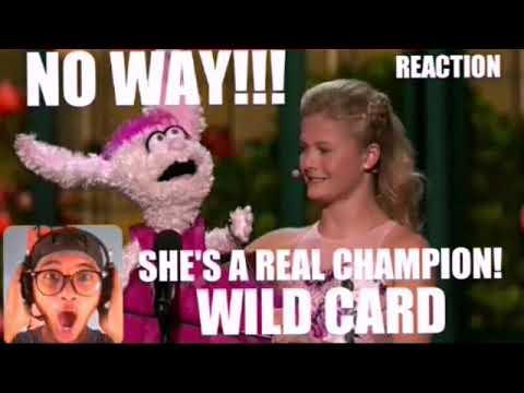 WILD CARD,Darci Lynne AGT CHAMPIONS REACTION!