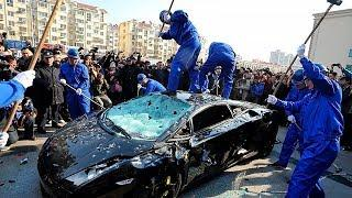 ANGRY PEOPLE VS SPORTS CARS