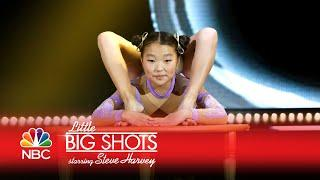 Little Big Shots - Kid Does Crazy Contortions (Episode Highlight)