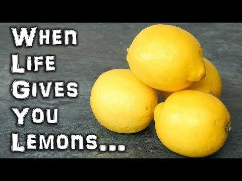 When Life Gives You Lemons - Hack  Them...
