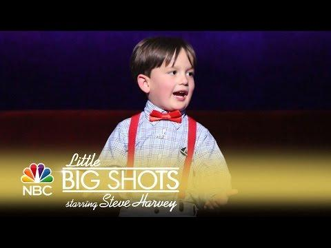 Little Big Shots - Four-Year-Old Shakespeare Wiz (Episode Highlight)