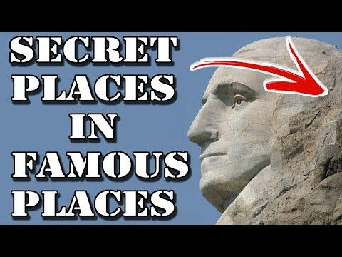 Top 10 Secret Places Hidden in Famous Locations