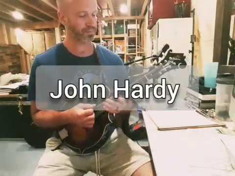 John Hardy Mandolin Video - Chris Dawson