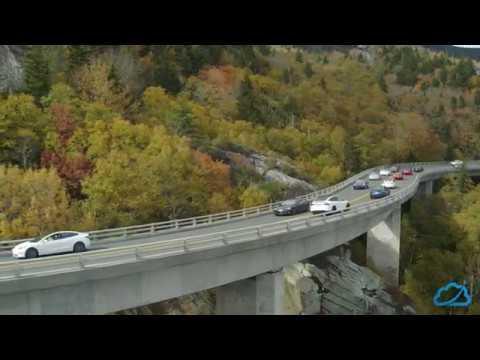 North Carolina Tesla Meetup - Blue Ridge Parkway