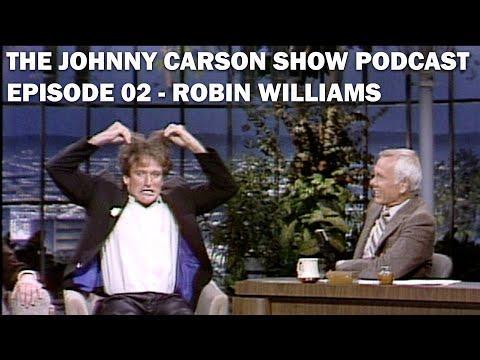 Robin Williams crazy first appearance on The Tonight Show Starring Johnny Carson