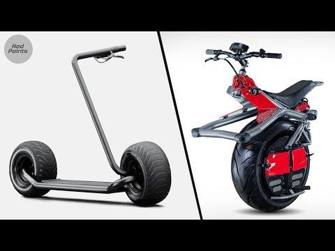 8 Insane Personal Transportation Inventions Video