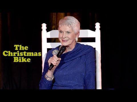 Comedy Jeanne Robertson and The Christmas Bike