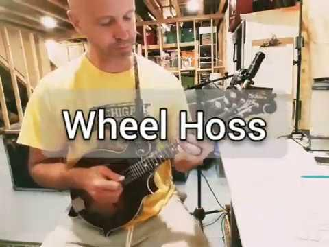 Wheel Hoss - Bill Monroe Cover Video - Chris Dawson