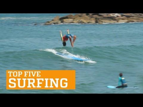 PEOPLE ARE AWESOME: TOP 5 - SURFING