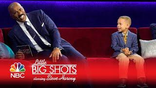 Little Big Shots - 5-Year-Old Sportscaster (Episode Highlight)