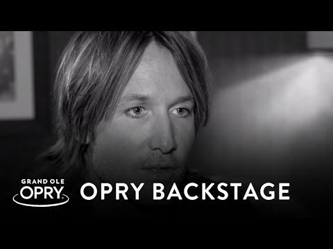 Backstage At The Opry With Keith Urban | Backstage At The Opry | Opry