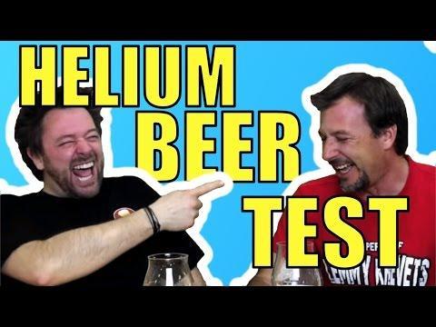Helium Beer Test
