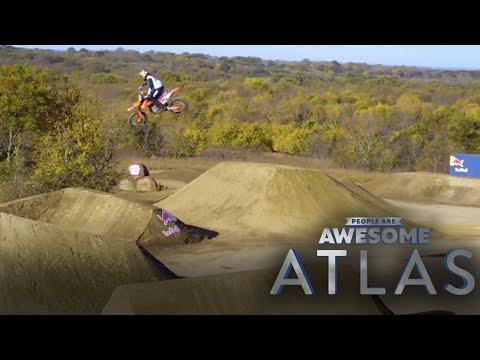 Building A Dream Motocross Track From Scratch | Tyler Bereman | Atlas