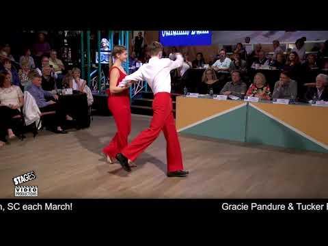 Gracie Pandure & Tucker Brown - 2019 National SHAG Dance Junior I Division Champs