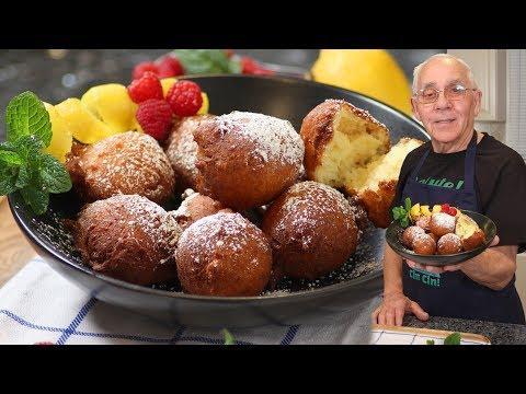 Ricotta Doughnuts Recipe - OrsaraRecipes