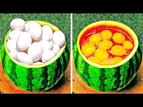 24 DELICIOUS COOKING IDEAS || KITCHEN TRICKS AND EASY RECIPES