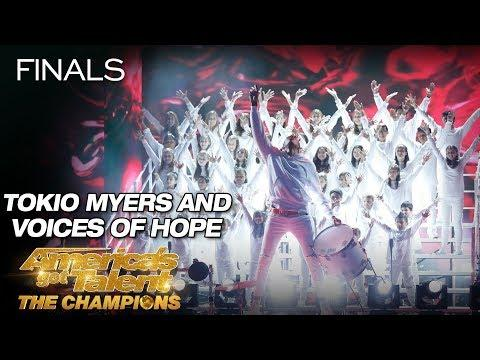 Tokio Myers And Voices Of Hope Children's Choir Stun The Crowd - AGT: The Champions