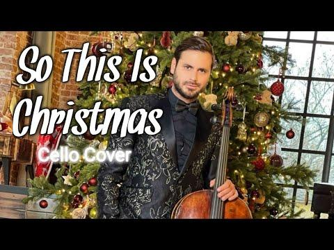 HAUSER - So This Is Christmas ( Hauser Cello cover video ) Hauser's Christmas Special