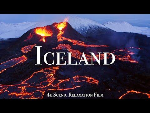 Iceland 4K - Scenic Relaxation Film With Calming Music #video